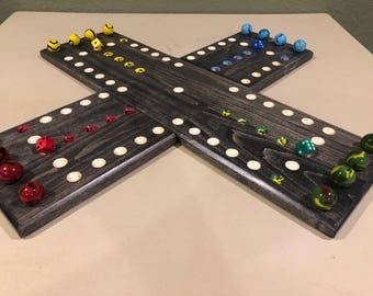 Handmade Aggravation Board Game
