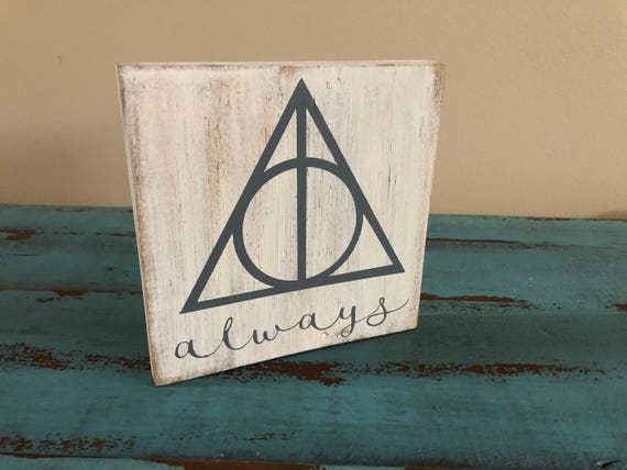 Harry Potter Deathly Hallows Always Signharry Potter