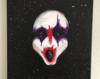 American Horror Story Cult Inspired Clown Painting