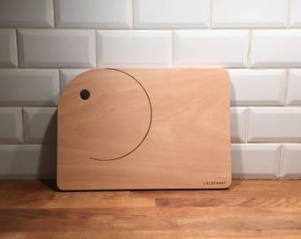 Cutting board wood - the ELEPHANT