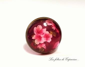 cabochon glass IBISCUS • •