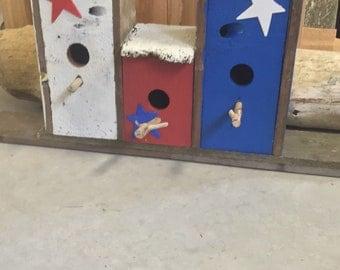 Rustic Reclaimed Cedar Birdhouse