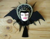 Vampire doll brooch - Vampire chronicles collection - PREORDER