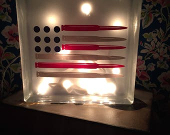 Bullet Flag Nightlight