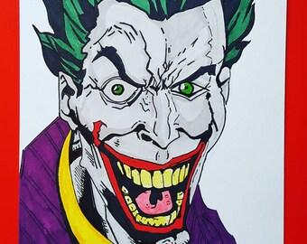 The joker art