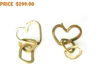 Sale For Labor Day!! Hearts handmade earrings