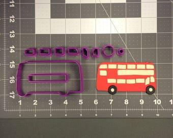 London Bus 266-049 Cookie Cutter Set