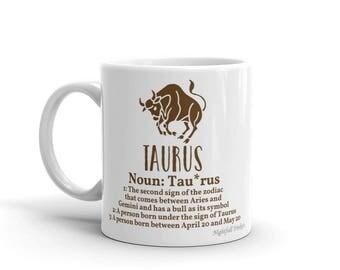 Taurus Star Sign Mug