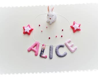 Name of fabric and felt Garland