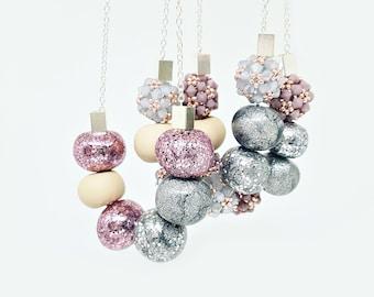 S W E E T  G L O W collection / beaded necklaces