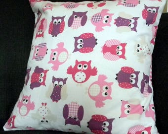 Cushion cover OWL 40x40cm