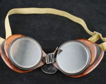 Bakelite Safety Goggles