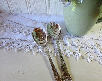 Vintage Highlands Salad Servers