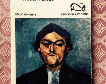 Modigliani Dolphin Art Book by Nello Ponente Published by Thames and Hudson
