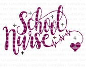 School nurse svg, nuse svg files, School nurse dxf, back to school dxf, School nurse svg cutting files, School nurse clipart