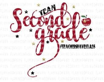 2nd grade teacher svg, second grade teacher svg, 2nd grade svg, second grade svg, back to school teacher svg, teacher svg files,