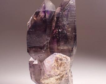 Sale! Brandberg Amethyst Smoky Quartz Crystal Specimen, Goboboseb Namibia