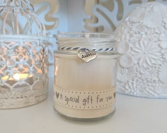 Auntie (a special gift for you) Scented Candle