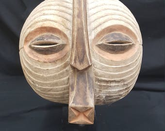 Antique Luba Tribe Mask