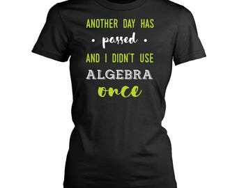 Math womens fit T-Shirt. Funny Math shirt.