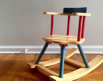 Modern Childs Rocking Chair