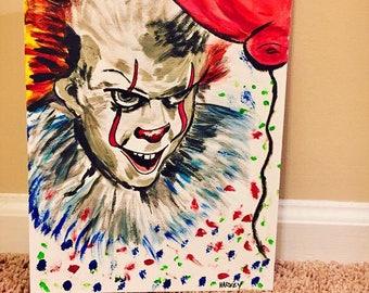 IT Painting on 9x12 Studio Canvas