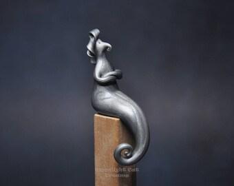 Fnurfle, Fantasy Creature, Fantasy Figurine, Miniature, Collectible Figurines, Handmade Polymer Clay Figurine, Whimsy, Whimsical Figurine
