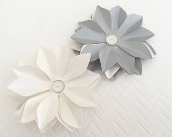 6 Wedding Paper Flower IV Cardstock Flower Backdrop Flower Flower Decor Wedding Flowers Paper Decoration Party Decorations Party Supplies