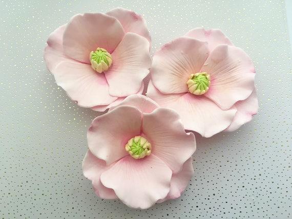 Are poppy flowers edible choice image flower decoration ideas 4 fondant poppy flowers i 4 gumpaste poppy flowers i fondant like this item mightylinksfo mightylinksfo