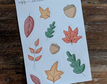 Sticker collection - Fall Leaves
