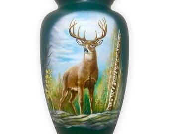 Stag Cremation Urn, Deer Cremation Urn, Hunter Cremation Urn