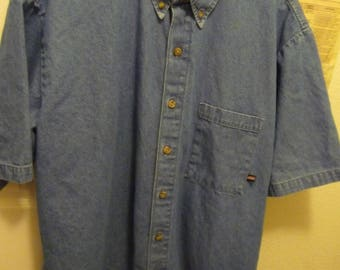 Denium Shirts Gently Used Dickey Texas Dry Goods and Rivers end Trading Co