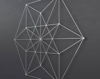 Vector Equilibrium Metal Wall Art Sculpture, Sacred Geometry Wall Decor, Large Metal Wall Art, Modern Metal Wall Sculpture, Geometric Art