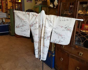 Japanese Silk Haori Kimono Jacket