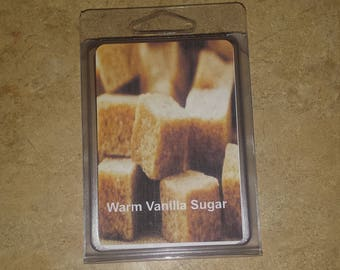 Warm vanilla sugar wax melt