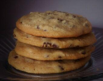 Chocolate Chip Cookies - Homemade, 1 Dozen