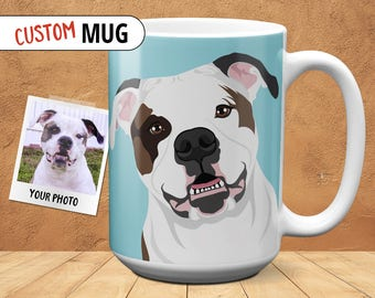 Custom Pet Portrait Coffee Mug
