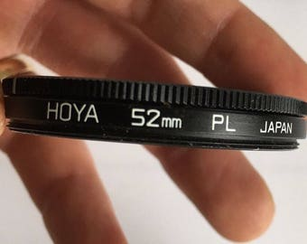 Hoya 52mm 52 mm Slim Circular Polarising Polarizing Polariser C-PL CPL Filter