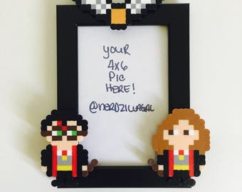 Harry Potter Picture Frame-Couples Picture Frame-Nerdy Home Decor-Geeky Home Decor