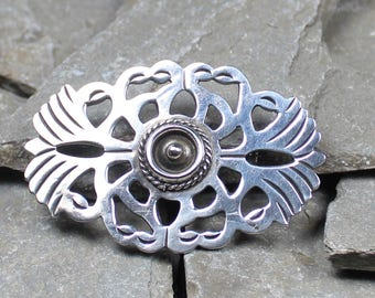 Vintage Taxco Sterling Silver Brooch