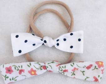 Dotted Swiss & Cordelia headbands