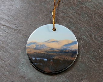 Colorful Adirondack Mountains Ornament
