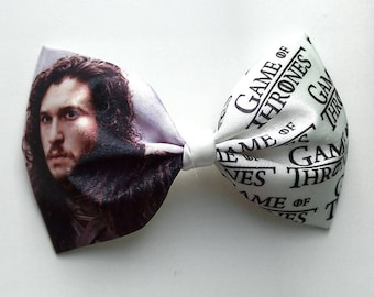 Game of thrones!! Free shipping!!! Satin bow tie with picture. Winter is coming Game of thrones bow tie. Unusual bow tie. Exclusive bow tie