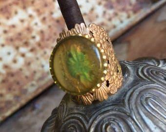 Vintage Adjustable Costume Ring