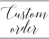 Custom Order, Wood Sign, ...