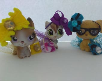 littlestpetshop,lps, dress,bag,accesories for lps. *Pet not included*