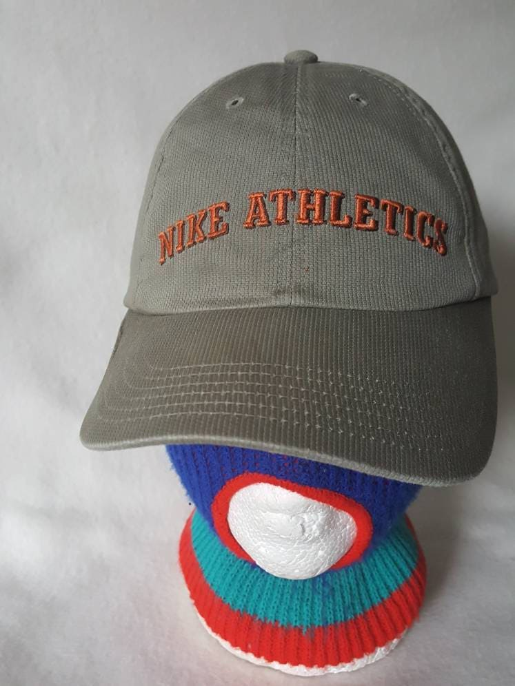 Vtg Nike Athletics dad hat strapback hat cap Air max TN swoosh 301223361269