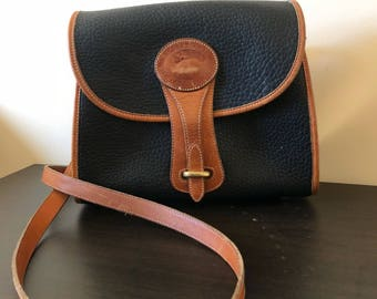 Dooney & Bourke Vintage All Weather Leather ® Medium ESSEX Shoulder Bag Model R25 Duck