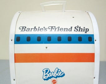 Barbie's Friend Ship United Airlines Airplane Jet Toy Playset Mattel Barbie