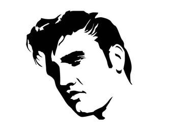 Elvis The King sticker  decal decorative